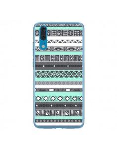 Coque Huawei P20 Azteque Aztec Bleu Pastel - Rex Lambo