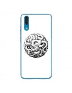 Coque Huawei P20 Boule Tentacule Octopus Poulpe - Senor Octopus