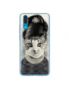 Coque Huawei P20 Audrey Cat Chat - Tipsy Eyes