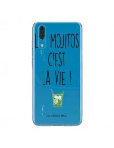 Coque Huawei P20 Les Mojitos, c'est la vie Transparente - Les Vilaines Filles