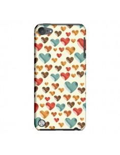 Coque Coeurs ColorŽs pour iPod Touch 5 - Eleaxart