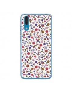 Coque Huawei P20 Peonies Pink - Ninola Design