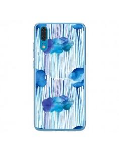 Coque Huawei P20 Rain Stitches Neon - Ninola Design