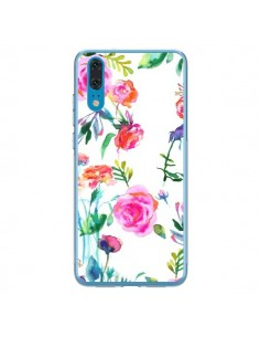 Coque Huawei P20 Raining Clouds Blue - Ninola Design