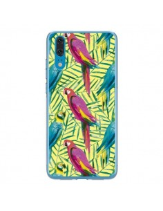 Coque Huawei P20 Tropical Monstera Leaves Multicolored - Ninola Design