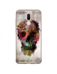 Coque Huawei Mate 10 Lite Skull Flower Tête de Mort - Ali Gulec
