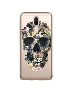 Coque Huawei Mate 10 Lite Skull Vintage Tête de Mort Transparente - Ali Gulec
