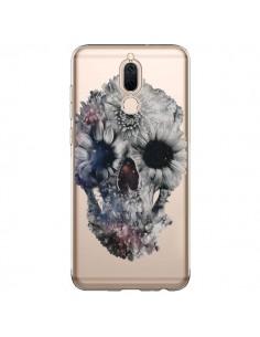 Coque Huawei Mate 10 Lite Floral Skull Tête de Mort Transparente - Ali Gulec
