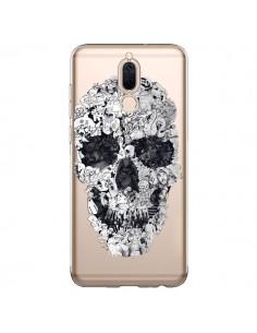 Coque Huawei Mate 10 Lite Doodle Skull Dessin Tête de Mort Transparente - Ali Gulec