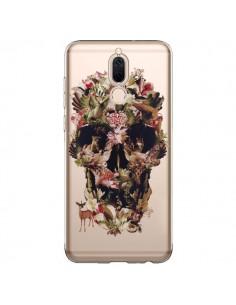 Coque Huawei Mate 10 Lite Jungle Skull Tête de Mort Transparente - Ali Gulec