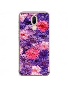 Coque Huawei Mate 10 Lite Fleurs Violettes Flower Storm - Asano Yamazaki