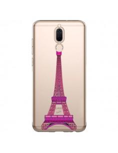 Coque Huawei Mate 10 Lite Tour Eiffel Rose Paris Transparente - Asano Yamazaki