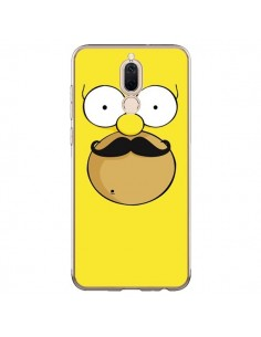 Coque Huawei Mate 10 Lite Homer Movember Moustache Simpsons - Bertrand Carriere