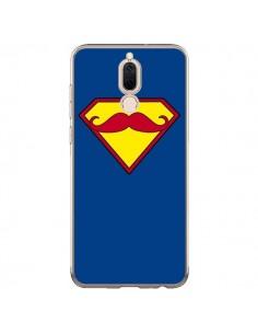 Coque Huawei Mate 10 Lite Super Moustache Movember Superman - Bertrand Carriere