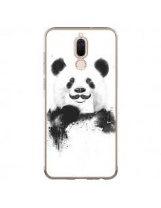 Coque Huawei Mate 10 Lite Funny Panda Moustache Movember - Balazs Solti