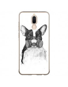 Coque Huawei Mate 10 Lite Tagueur Bulldog Dog Chien Big City Life - Balazs Solti