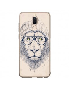 Coque Huawei Mate 10 Lite Cool Lion Lunettes - Balazs Solti