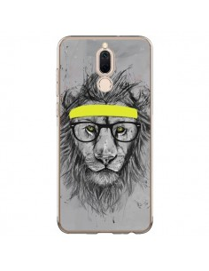 Coque Huawei Mate 10 Lite Hipster Lion - Balazs Solti