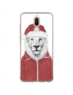 Coque Huawei Mate 10 Lite Santa Lion Père Noel - Balazs Solti