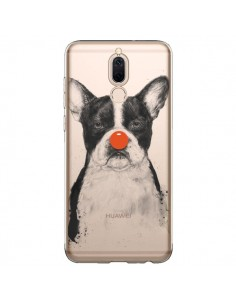 Coque Huawei Mate 10 Lite Clown Bulldog Dog Chien Transparente - Balazs Solti