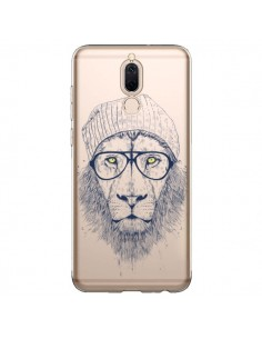 Coque Huawei Mate 10 Lite Cool Lion Swag Lunettes Transparente - Balazs Solti