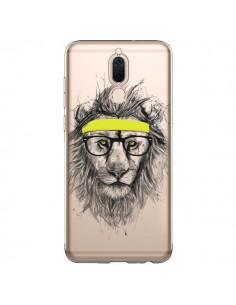 Coque Huawei Mate 10 Lite Hipster Lion Transparente - Balazs Solti