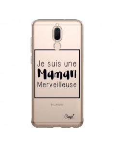 Coque Huawei Mate 10 Lite Je suis une Maman Merveilleuse Transparente - Chapo