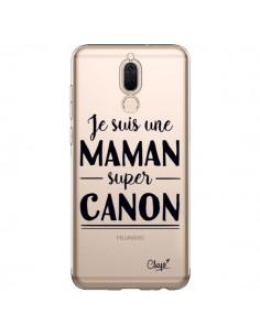 Coque Huawei Mate 10 Lite Je suis une Maman super Canon Transparente - Chapo