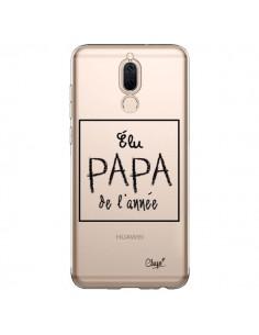 Coque Huawei Mate 10 Lite Elu Papa de l'Année Transparente - Chapo