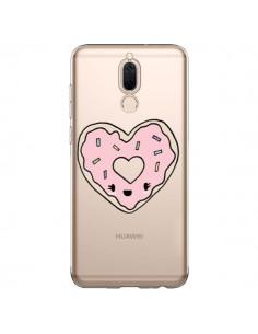 Coque Huawei Mate 10 Lite Donuts Heart Coeur Rose Transparente - Claudia Ramos