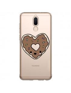 Coque Huawei Mate 10 Lite Donuts Heart Coeur Chocolat Transparente - Claudia Ramos