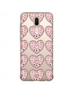 Coque Huawei Mate 10 Lite Donuts Heart Coeur Rose Pink Transparente - Claudia Ramos