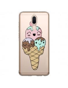Coque Huawei Mate 10 Lite Ice Cream Glace Summer Ete Cerise Transparente - Claudia Ramos