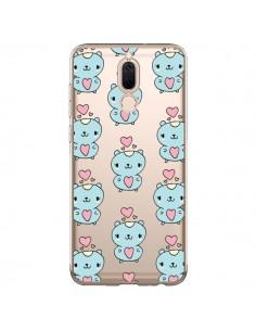 Coque Huawei Mate 10 Lite Hamster Love Amour Transparente - Claudia Ramos