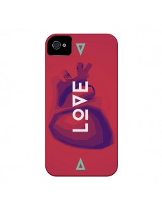 Coque Love Coeur Triangle Amour pour iPhone 4 et 4S - Javier Martinez