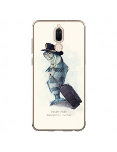 Coque Huawei Mate 10 Lite The Pilot Fish Poisson Pilote - Eric Fan