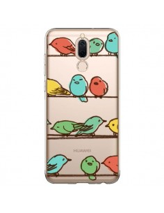 Coque Huawei Mate 10 Lite Oiseaux Birds Transparente - Eric Fan