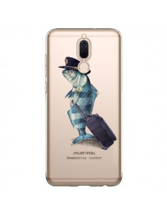 Coque Huawei Mate 10 Lite Pilot Fish Poisson Pilote Transparente - Eric Fan