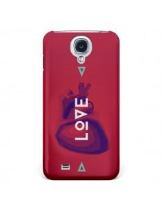 Coque Love Coeur Triangle Amour pour Samsung Galaxy S4 - Javier Martinez