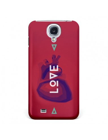 Coque Love Coeur Triangle Amour pour Samsung Galaxy S4 - Javier Martinez