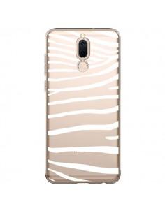 Coque Huawei Mate 10 Lite Zebre Zebra Blanc Transparente - Project M