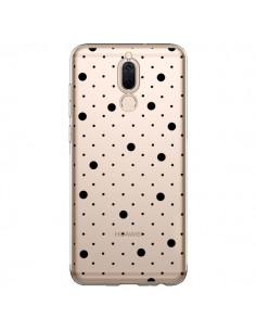 Coque Huawei Mate 10 Lite Point Noir Pin Point Transparente - Project M