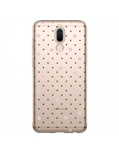 Coque Huawei Mate 10 Lite Point Rose Pin Point Transparente - Project M