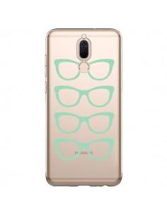 Coque Huawei Mate 10 Lite Sunglasses Lunettes Soleil Mint Bleu Vert Transparente - Project M