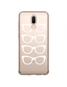 Coque Huawei Mate 10 Lite Sunglasses Lunettes Soleil Blanc Transparente - Project M