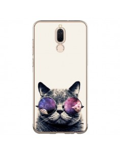 Coque Huawei Mate 10 Lite Chat à lunettes - Gusto NYC
