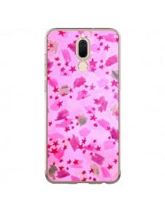 Coque Huawei Mate 10 Lite Stars Etoiles Roses - Ebi Emporium