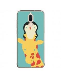 Coque Huawei Mate 10 Lite Girafe Pingouin Meilleure Vue Better View - Jay Fleck