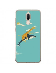 Coque Huawei Mate 10 Lite Girafe Epee Requin Volant - Jay Fleck