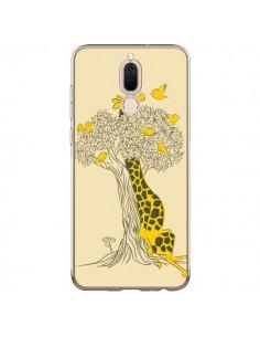 Coque Huawei Mate 10 Lite Girafe Amis Oiseaux - Jay Fleck